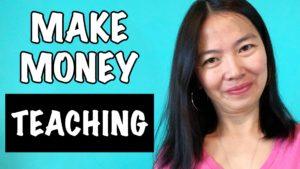 How To Make Money Teaching Online | Make $1000+:Mo
