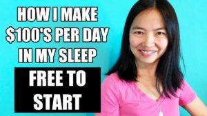 How I Make $100s Per Day In My Sleep