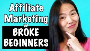 How To Make Money with Affiliate Marketing For Broke Beginners!