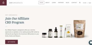 Joy Organics Affiliate Page
