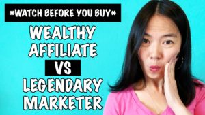 Wealthy Affiliate vs Legendary Marketer - WATCH BEFORE You Buy!!