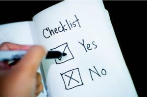 Survey Type Checklist