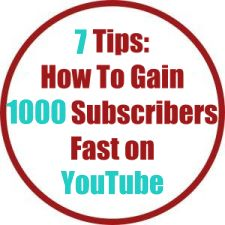 7 Tips: How To Gain 1000 Subscribers Fast on YouTube! My Secret Weapon Revealed!