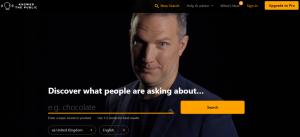 answer the publick website screenshot