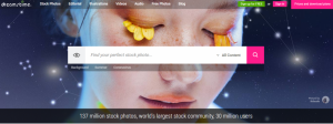 dreamstime webpage screenshot