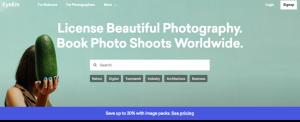 EyeEm webpage screenshot