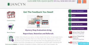 jancyn webpage screenshot